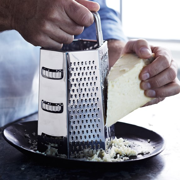 Williams-Sonoma Open Kitchen Stainless-Steel 6-Sided Grater
