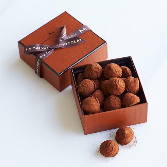 La Maison du Chocolat Dark Chocolate Truffles