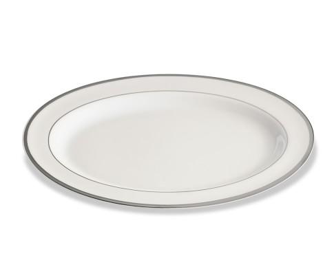 Pickard Signature Oval Platter, Platinum