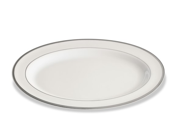 Pickard Signature Oval Platter, Platinum