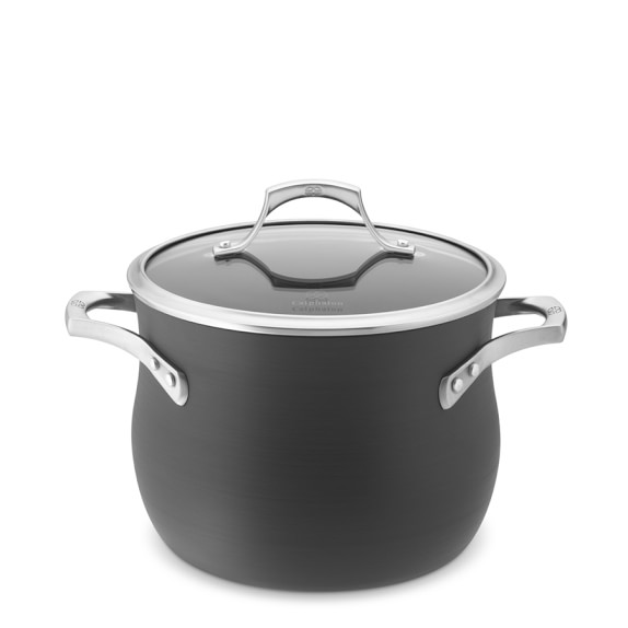 Calphalon Unison Sear Nonstick Stock Pot, 6-Qt.