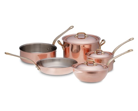 Mauviel Copper 8-Piece Set