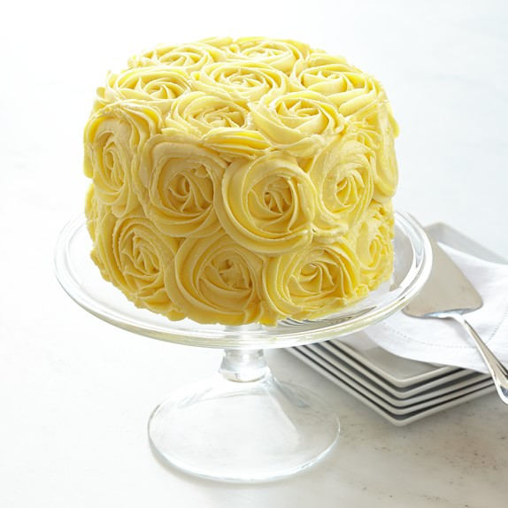Yellow Rose Layer Cake
