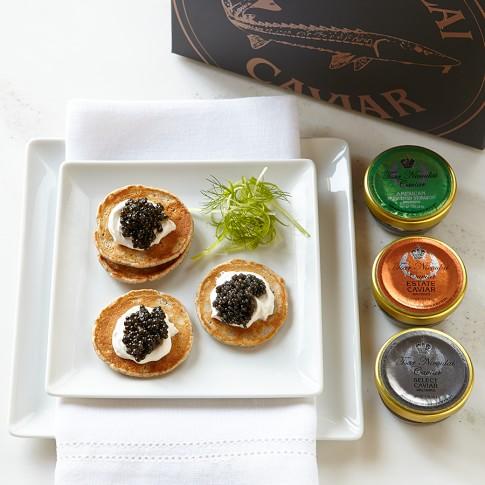 Tsar Nicoulai Caviar Gift Set
