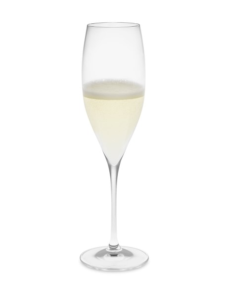 Riedel Grape Champagne Flutes, Set of 2
