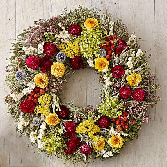 Garden's Bloom Wreath, 22