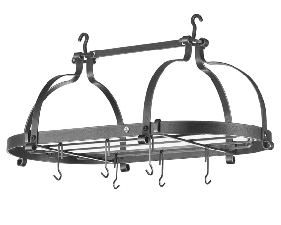 Enclume Double Dutch Crown Oval Pot Rack