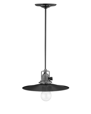 Mccoy Pendant, Black