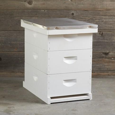 Painted Backyard Beehive & Starter Kit