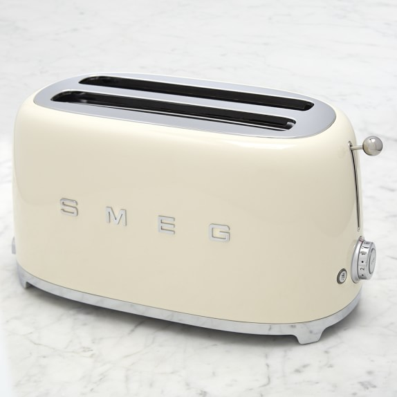 smeg 4 slice toaster williams sonoma. Black Bedroom Furniture Sets. Home Design Ideas
