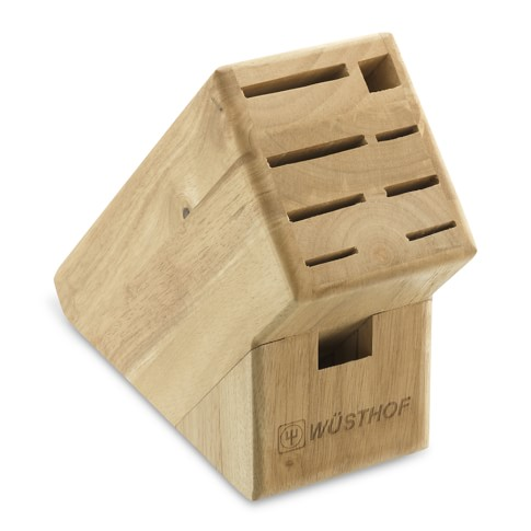 Wüsthof 9-Slot Knife Block, Natural