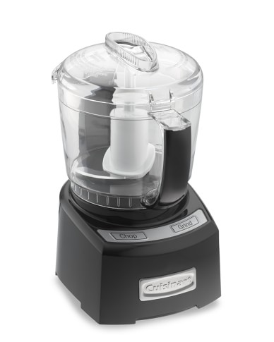 Cuisinart Elite Mini Prep Food Processor, 4-Cup, Black