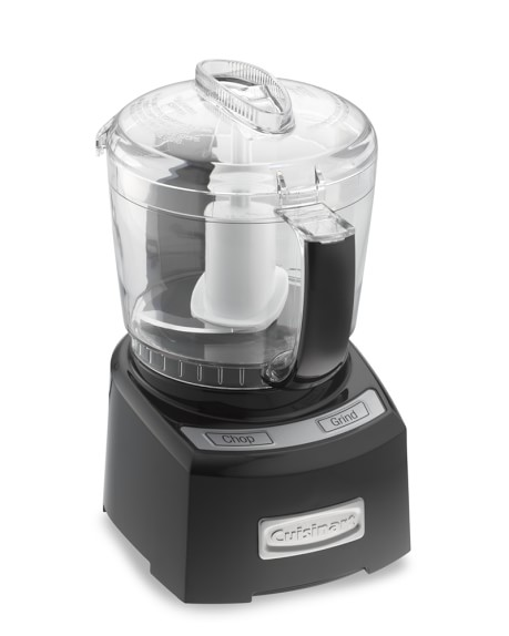 Cuisinart Elite Mini Prep Food Processor, 4-Cup, Black