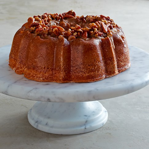 Butter Pecan Rum Bundt Cake