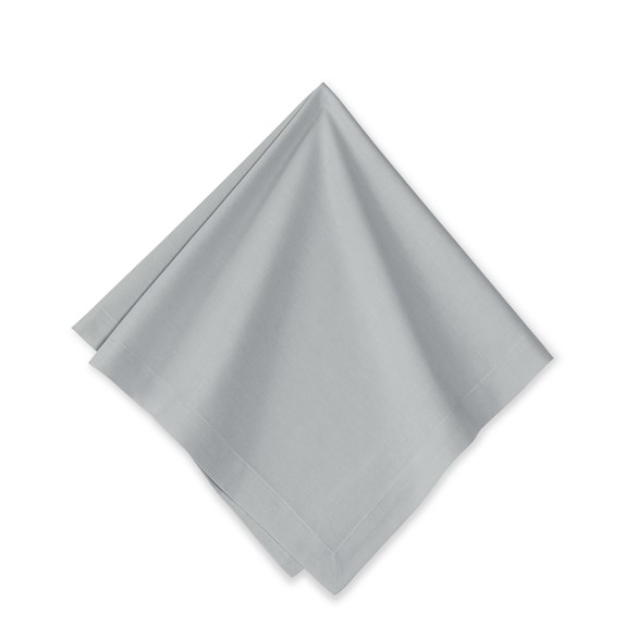 Vine Floral Boutis Napkins, Set of 4, Grey