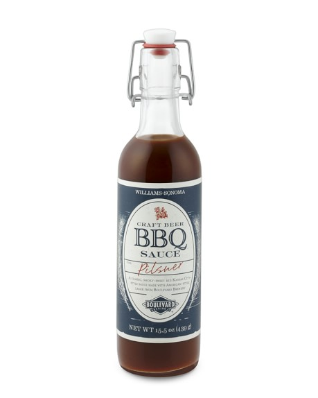Williams-Sonoma BBQ Sauce, Boulevard Craft Beer