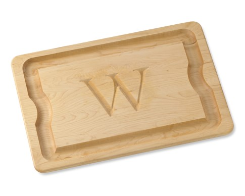 Monogrammed Carving Board