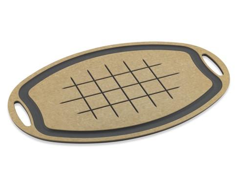 Epicurean Cutting Board, Oval, Natural