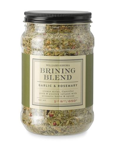 Williams-Sonoma Brining Blend, Garlic & Rosemary