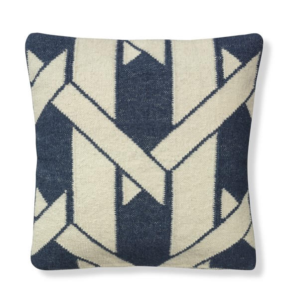 Cane Rug Pillow Cover, Storm Trooper