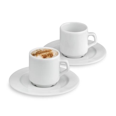 Apilco Tradition Espresso Cups, Set of 2