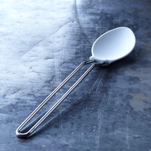 Williams-Sonoma Open Kitchen Nylon Spoon, White