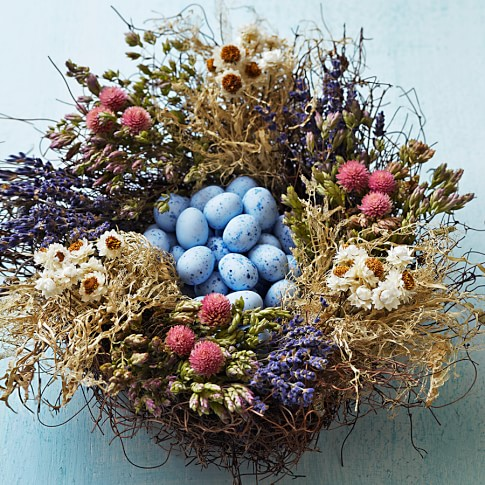 Nest with Truffle-Filled Eggs