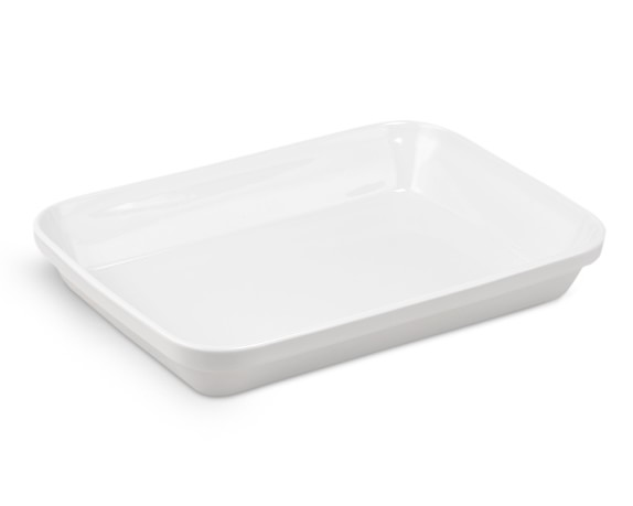 Pillivuyt Rectangular Baker, 3 3/4-Qt.