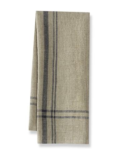 Calias Stripe Towels, Set of 2, Navy