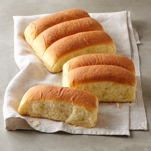 Brioche Hot Dog Buns, Set of 12