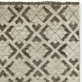 Kuba Hand-Knotted Moroccan Rug Swatch