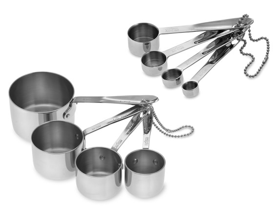 All-Clad Stainless-Steel Standard Cups & Spoons