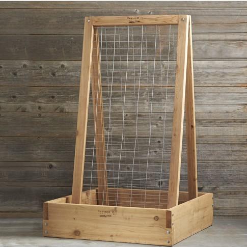 Farmer D Cedar A Frame Trellis, 3'
