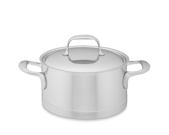 Demeyere Atlantis Stainless-Steel Sauce Pot, 3-Qt.