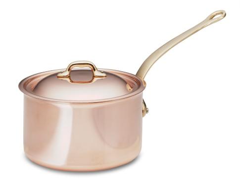 Mauviel Copper Saucepan, 1 1/2-Qt.