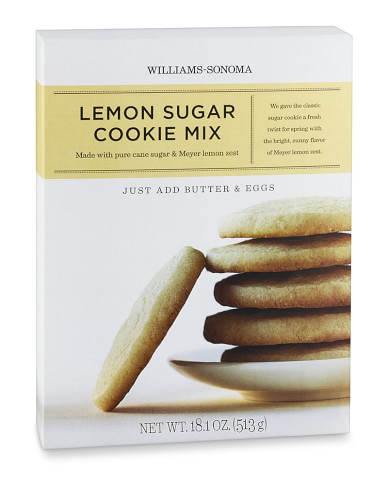 Williams-Sonoma Lemon Sugar Cookie Mix