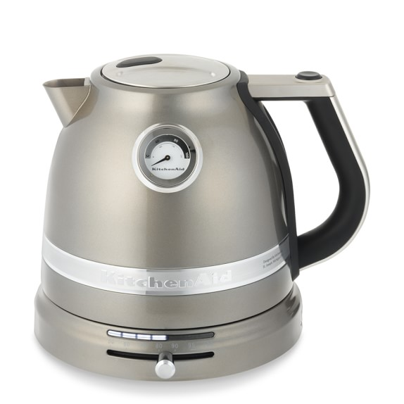 KitchenAid® Pro Line® Tea Kettle, Medallion Silver