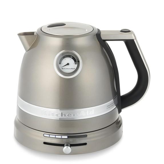 KitchenAid® Pro Line® Tea Kettle, Medallion Silver