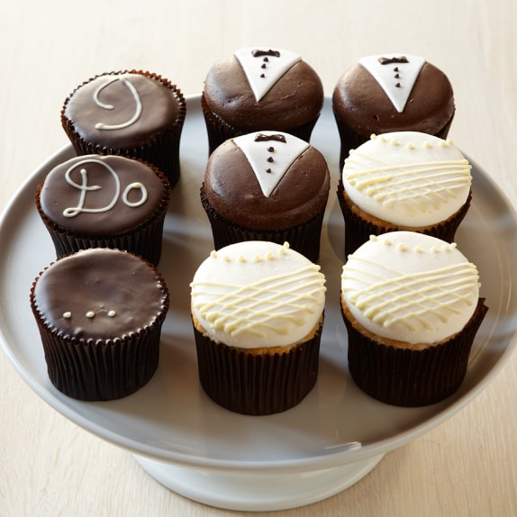 More® Wedding Cupcakes, Set of 9