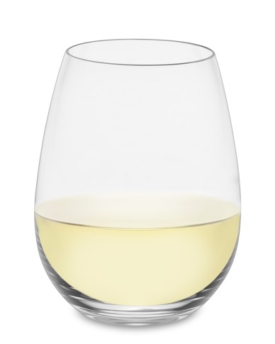 Williams-Sonoma Reserve Stemless White Wine Glasses, Set of 2