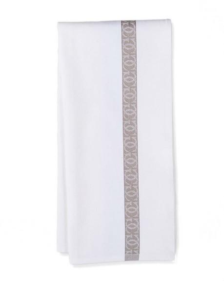 Williams-Sonoma Jacquard Logo Towels, Set of 2, Grey