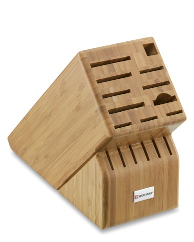 Wüsthof 17-Slot Bamboo Knife Block