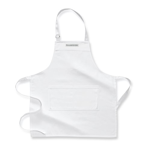 Williams-Sonoma Open Kitchen Logo Chef's Apron, White