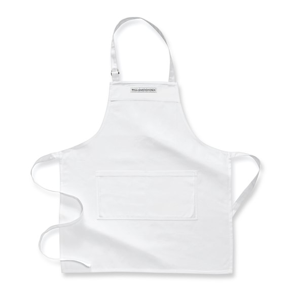 Williams-Sonoma Open Kitchen Logo Chef's Apron, White
