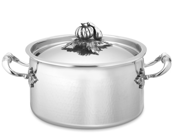Ruffoni Opus Prima Hammered Stainless-Steel 3 1/2-Qt. Soup Pot