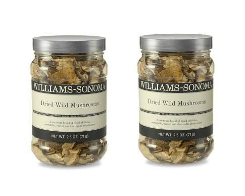 Williams-Sonoma Dried Wild Mushroom Blend, Set of 2