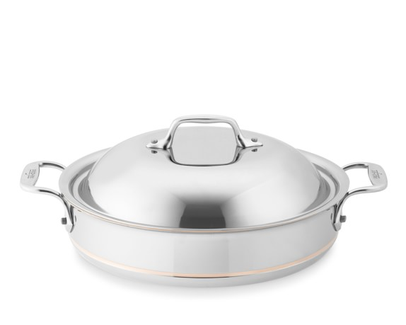 All-Clad Copper Core Sauteuse, 3-Qt.