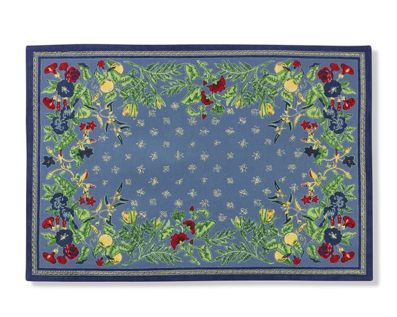 Provence Place Mats, Blue, Set of 4