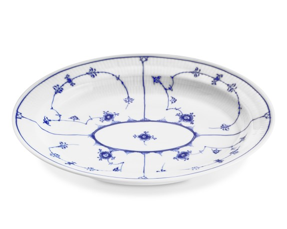 Royal Copenhagen Blue Fluted Plain Oval Platter
