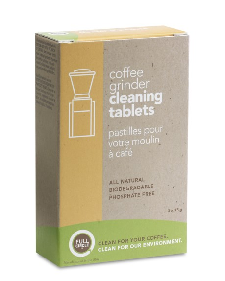 Full Circle Coffee Grinder Cleaning Tablets